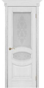 Дверь Вист Ницца патина стекло