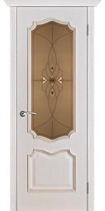 Дверь Вист Премьера белая патина